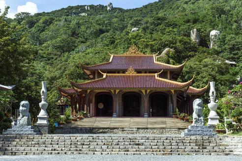 Vietnam, monkey temple near Vung Tau - WE000319