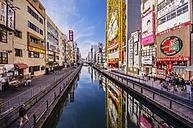 Japan, Osaka, shops in Dotonbori district - THAF001006