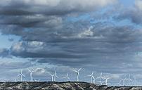 Spain, Castile and Leon, Palencia, wind farm - KBF000247