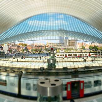Belgium, Liege, train station - SEG000126