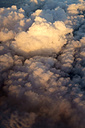 Aerial view, Clouds in the evening - NDF000484