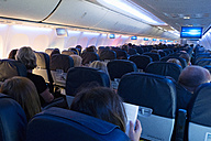 Aircraft with passengers, entertainment - ND000485