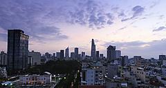 Vietnam, Ho Chi Minh City, cityscape - FC000540