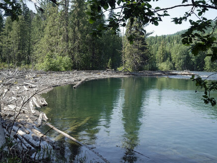 Canada, British Columbia, Wells Gray Provincial Park, Clearwater Lake - HLF000824