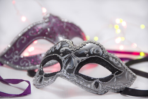 Two carnival masks, close up - YFF000283