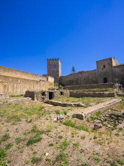 Italy, Sicily, Enna, Fortress Castello di Lombardia - AMF003492