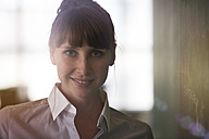 Portrait of smiling woman - STKF001159
