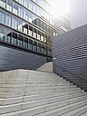 Germany, Cologne, architecture of modern office buildings in the city - MS004412