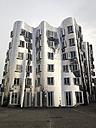 Germany, Dusseldorf, Gehry-buildings in the restored harbour district Medienhafen - MS004425