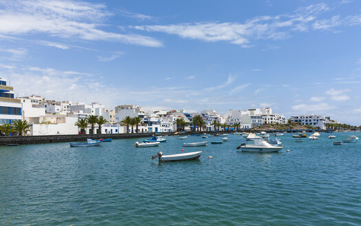Spain, Canary Islands, Lanzarote, Arrecife, view to Charco de San Gines - AMF003520