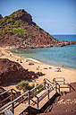 Spain, Balearic Islands, Menorca, Cala Pilar beach - EHF000014
