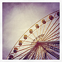 Ferris wheel on a funfair - GWF003370