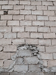 Brick wall with new built part - JMF000291