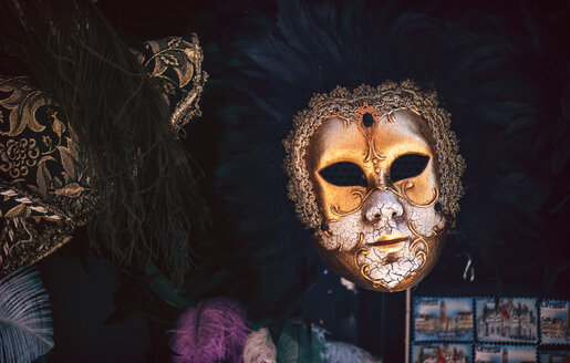 Italy, Venice, typical carnival mask - EH000040