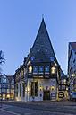 Germany, Goslar, hotel Brusttuch in the evening - PVCF000258