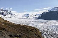 Iceland, South of Iceland, Skaftafell National Park, Skaftafellsjoekull - ATAF000084