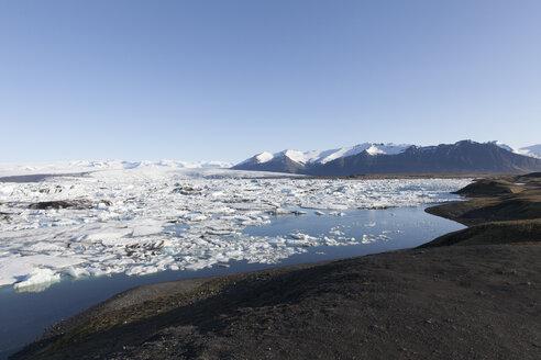 Iceland, Joekulsarlon, glacier lake - ATAF000104