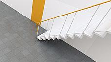 3D rendering of staircase in building - UWF000312