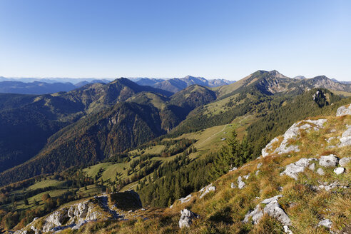 Germany, Bavaria, Mangfall Mountains - SIEF006339