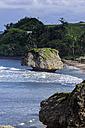 Caribbean, Antilles, Lesser Antilles, Barbados, Bathsheba, Atlantic coast, rock formation - THAF001120