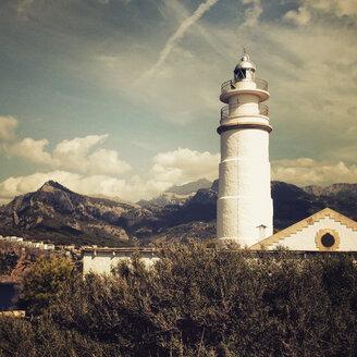 Es Faro, lighthouse at Port de Soller, Majorca, Spain - SE000840