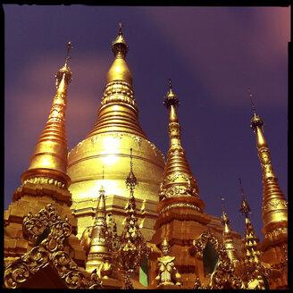 shwedagon pagoda, yangon, myanmar - LUL000113