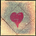 streetart, berlin loves you, heart, friedrichshain, kreuzberg,  berlin, germany - LULF000157