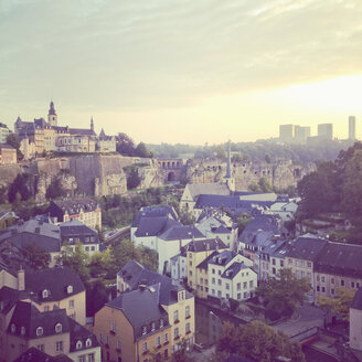 Luxembourg, cityscape of district Grund - SEF000849