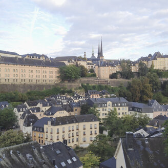 Luxembourg, cityscape of district Grund - SEF000854