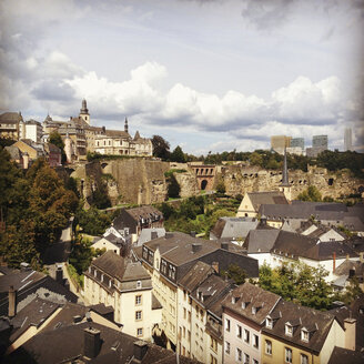 Luxembourg, cityscape of district Grund - SEF000875
