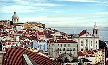 Portugal, Lisbon, view of Alfama neighborhood - EHF000110
