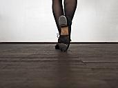 Legs of step dancing woman - LAF001291