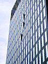 Switzerland, Zurich, facade of modern office tower - SEGF000220