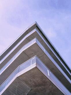 Switzerland, Zurich, corner of modern building - SEGF000223