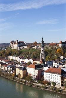 Germany, Bavaria, Burghausen, cityscape - WWF003357