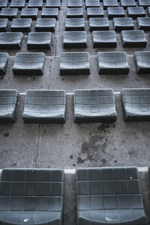 Empty grandstand of a stadium - ZEF004403