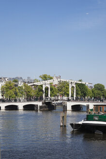 Netherlands, County of Holland, Amsterdam, Magere Brug, river Amstel - GW003754