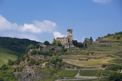 Germany, Kaub, Gutenfels Castle - JWAF000234
