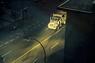 Canada, Vancouver, Truck on Burrard Street - NG000193