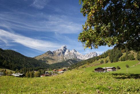 Austria, Filzmoos, Dachstein Mountains, Bischofsmuetze - WWF003367