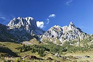 Austria, Filzmoos, Dachstein Mountains, Gosaukamm, Bischofsmuetze - WW003371