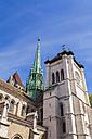 Switzerland, Geneva, Saint-Pierre Cathedral - WDF002823