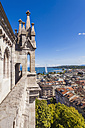 Switzerland, Geneva, view from Saint-Pierre cathedral to city and  Lake Geneva - WDF002830