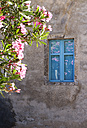 Greece, Monemvasia, window in old town - WWF003488