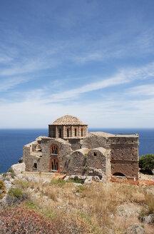 Greece, Monemvasia, Byzantine Church Hagia Sophia - WWF003495