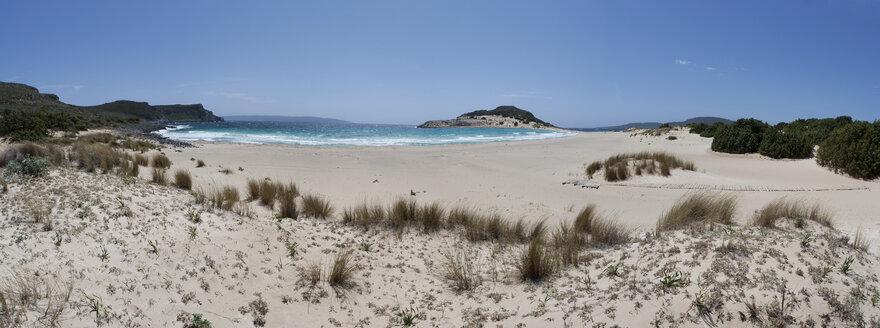 Greece, Elafonisos, sandy beach - WWF003499