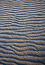 Greece, Elafonisos, rippled structure on sandy beach - WWF003500