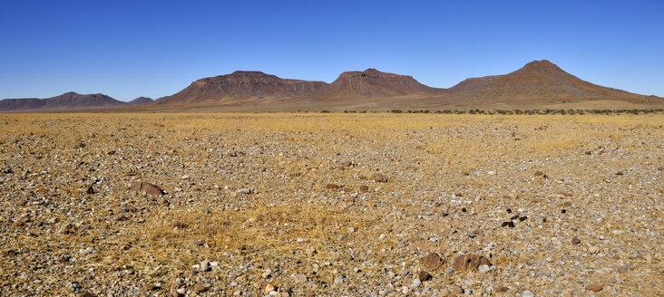 Namibia, Namib Desert, Kaokoland, desert near Orupembe, Hartmann Mountains - ESF001530