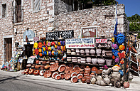 Greece, Mani peninsula, souvenir shop - WW003531