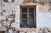 Greece, Gerolimenas, old window - WWF003514